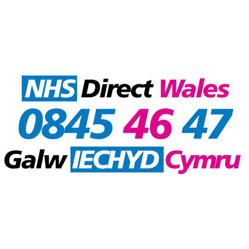 NHS Direct Wales logo